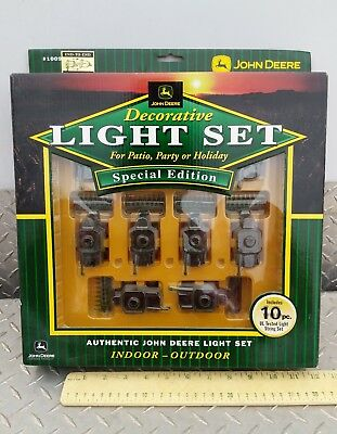 John Deere Model 9850 combine Tractor Light Set 10 Light String new party tree