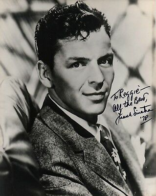 1978 FRANK SINATRA boldly signed 8 x 10 photo autograph 4 his driver on UK tour