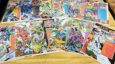 Complete DC WHO'S WHO 1985 #1-26 + Update '87 1-5 + '88 1-4 Comic Set