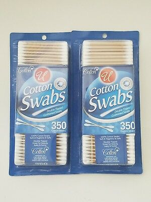 Wood Stick Cotton Swabs 2 Box - 700 Count COPITOS BEAUTY BABY HOME HEALTH