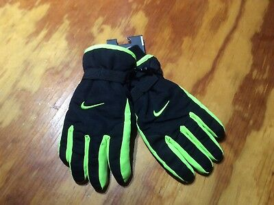 Boys Nike Insulated Waterproof Ski Snow Winter Gloves Nwt $28 Nwts Size 8/20