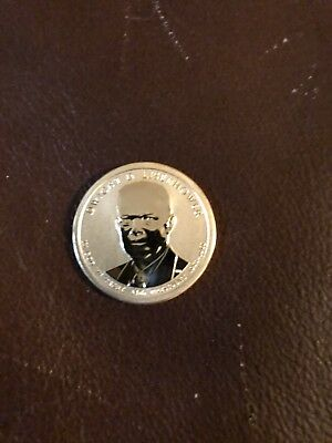 2015 P Coin and Chronicles Dwight Eisenhower Reverse Proof