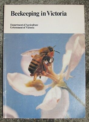 BEEKEEPING in VICTORIA by department of Agriculture, Vic, Aust (HONEY BEES HIVE)