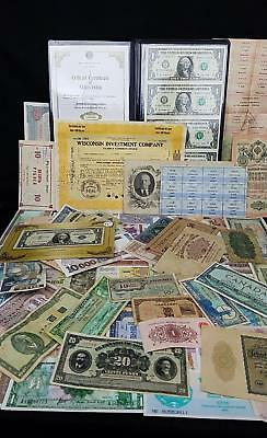 World Currency Estate Lot   China, USA, Europe, Middle East, South Am+++   WWII