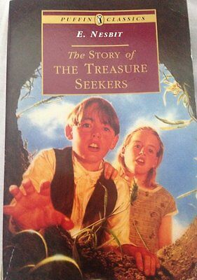 The Story of the Treasure Seekers Book by E. Nesbit