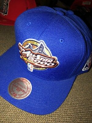 9fe5a2076e8ffd New Mitchell & Ness NBA Golden State All Star Game 2000 Snapback Hat $34
