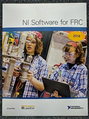 NEW National Instruments NI LabVIEW 2018 DVD 780004-35 Sealed Software for FRC