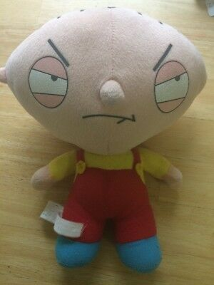 Stewie Plush Toy –  2005 Family Guy Fox TV  – Preowned