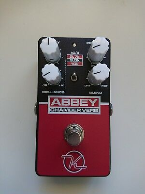Keeley - Abbey Chamber Reverb - Abbey Road Studio in a Guitar Effect Pedal