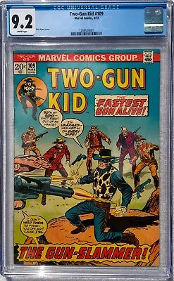 Cgc 9.2 Two-Gun Kid #109 .. Dick Ayers Cover .. Marvel Western .. Scarce ..