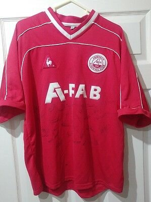 Aberdeen Fc Signed Football Shirt...