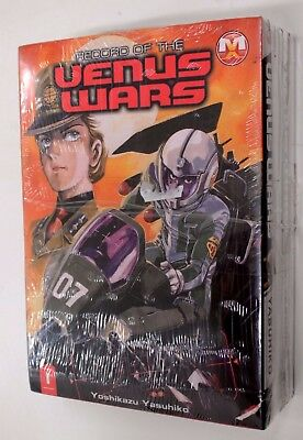RECORD OF THE VENUS WARS n. 1-4 SERIE COMPLETA Magic Press 2009 Yasuhiko Manga