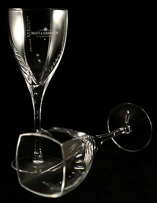 Moet Chandon Nectar Imperial On Ice Champagne Glass X 2 New Rare Brand New