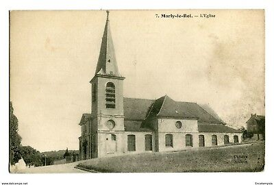 CPA-Carte postale-France- Marly le Roi- Son Eglise (CPV 251)