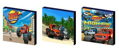 Blaze And The Monster Machines Canvas Wall Art Plaques/pictures