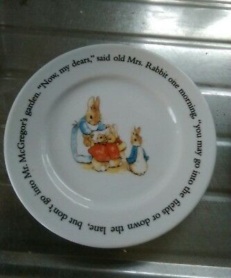 Beatrix potter collectable plate