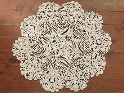 60Cm New Round Crochet Lace  Tablecloth /centrepiece