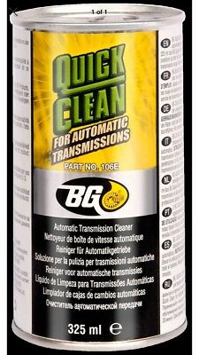 1*B1.  BG Quick Clean ATF Flush for Automatic Transmissions Pn 106e