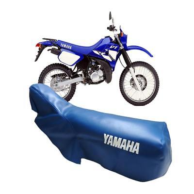 YAMAHA DT125R 1988-2003 DT200R 1988-1995 BLUE SEAT COVER with LOGOS TO SIDES