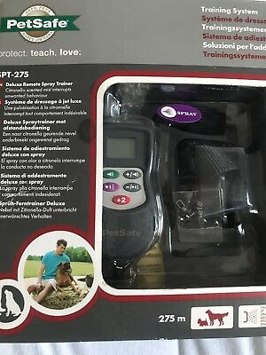 Petsafe SPT- 275 Deluxe Remote control Dog Training system / Spray trainer