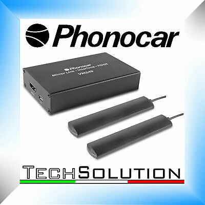 Phonocar VM249 Mirror Link Universale Interfaccia WI-FI Smartphone Airplay HDMI