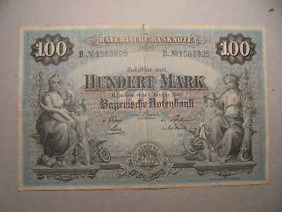 Rare Date 1/1/1900 German Banknote Own A Piece Of History