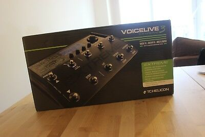 TC-Helicon Voice Live 3 Extreme, only ever used once (never at a gig)