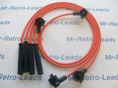 ORANGE 8MM PERFORMANCE IGNITION LEADS FOR THE FIESTA MKIV 1.3i 1.3 1.0 QUALITY