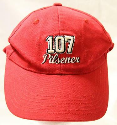 Collectible 107 Pilsener West End Embroidered Peaked Hat/cap - Excellent