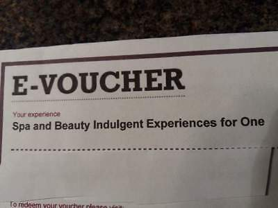 Gift voucher for Spa and Beauty Day