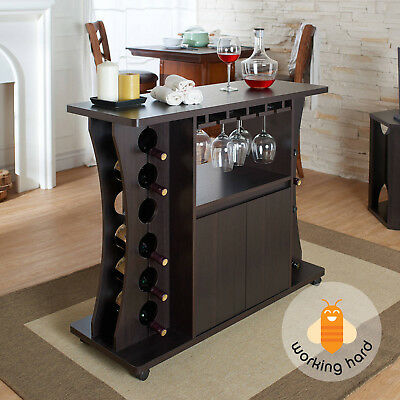 home bar furniture set modern storage buffet table wine rack cabinet