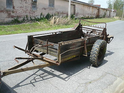 Old Manure Spreader