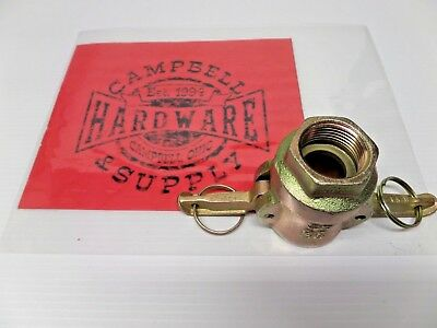 Mullenbach Steel Female Mortar Coupling with Handles and Security Clips
