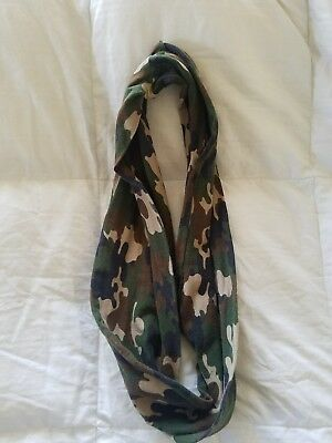 Toddler camo infinity scarf