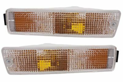 VW Scirocco MK2 82-92 Smoked Front Indicators Repeaters Set Pair Left Right