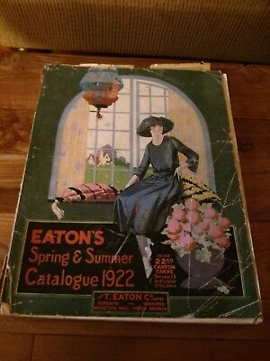 Eaton's of Canada Department Store 1922 Spring and Summer Catalogue