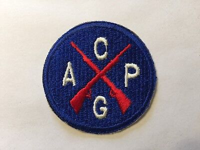 Wwii Us Army Military Civil Air Patrol Guard Cap Patch