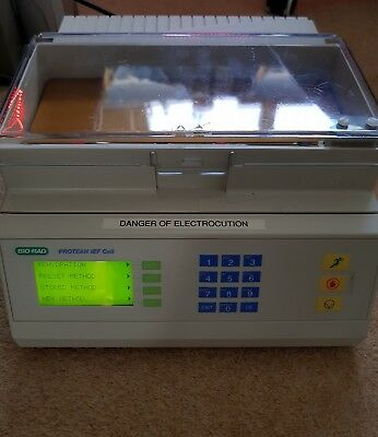 Bio Rad Protean IEF Cell Electrophoresis Protein analysis machine
