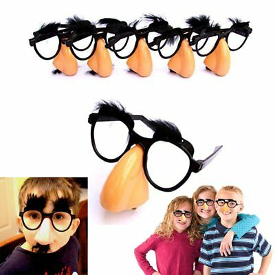 Disguise Glasses with Funny Nose, Eyebrows & Mustache | Classic Disguise 6 pack