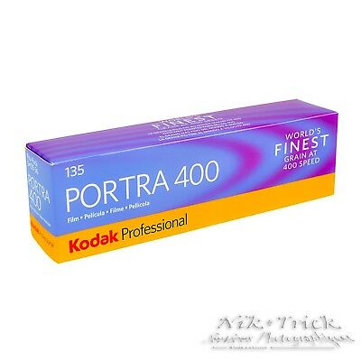 Kodak Portra 400 ~ 35mm 36exp ~ Five Pack Fresh from Kodak!