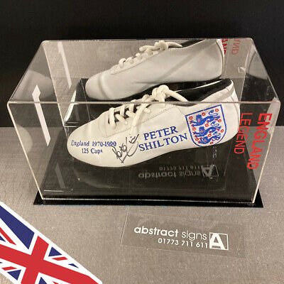 FOOTBALL Boots BOOT Display CASE Any Name & Colour UK Manufacturer