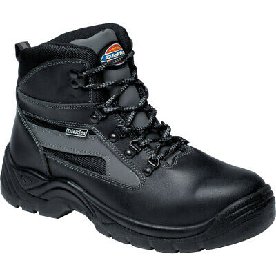 Dickies Fa23500 Severn Men'S Black Super Safety Boots - Size 10