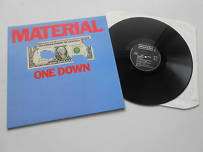Material - One Down, Celluloid LP 205136-320 ARCHIVCOPY & unplayed & like new OO