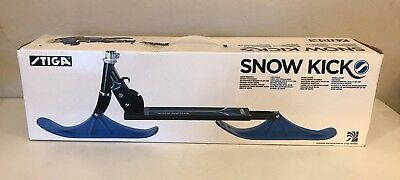 Stiga Snow Kick - Scooter in the Snow Blue and Black #75-1118-XX BRAND NEW!