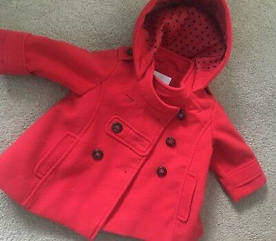 Girls Next Coat 6-9 Months