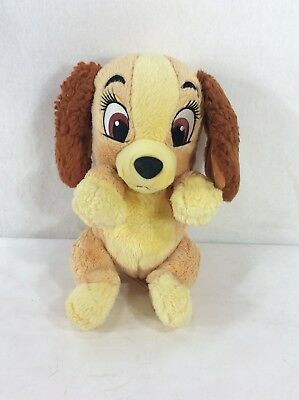 """DISNEY Parks Babies Lady And The Tramp Lady 11"""" Plush Toy Doll"""