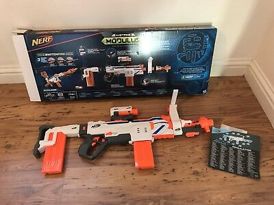 Nerf Gun Modulus Regulator Toy N-Strike 24 Darts, Bullets