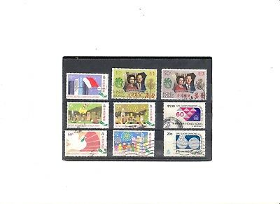 """Hong Kong, 1972-90, """"silver.wedding, Girl Guide, X'mas""""3 Fine Used Stamp Sets"""