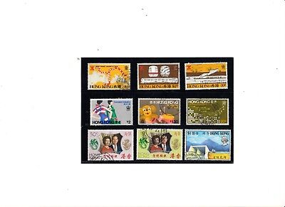 """Hong Kong, 1972-79, """"silver Wedding, Tunnel, Mrt Industry""""4 Fine Used Stamp Sets"""