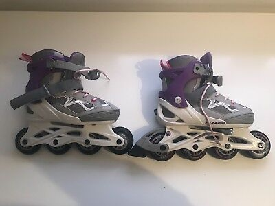 Girls Oxelo Rollerblades Size 1-4